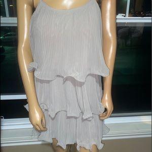 ‼️3/45.00 Beige Layered Dress